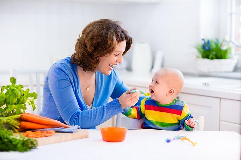 Preparing Homemade Baby Food